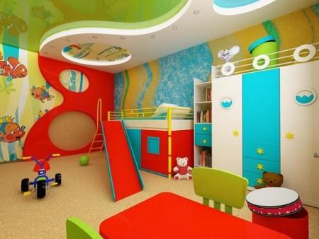 Рекомендации по обустройству детской комнаты