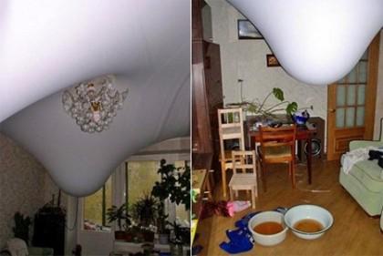 Плюсы и минусы натяжных потолков