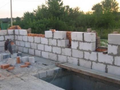 Строительство зданий из облегченного бетона
