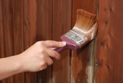 Специальные составы и краски для деревянных домов