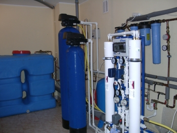Система водоподготовки с обратным осмосом