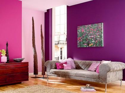 Краски для гостиной