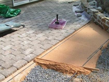 Ошибки при укладке тротуарной плитки