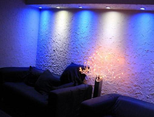 LED - светильники в интерьере
