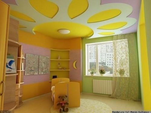 Выбор краски для детской комнаты