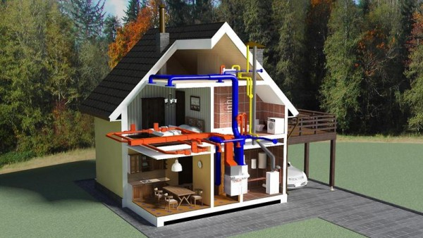 Воздушные системы отопления
