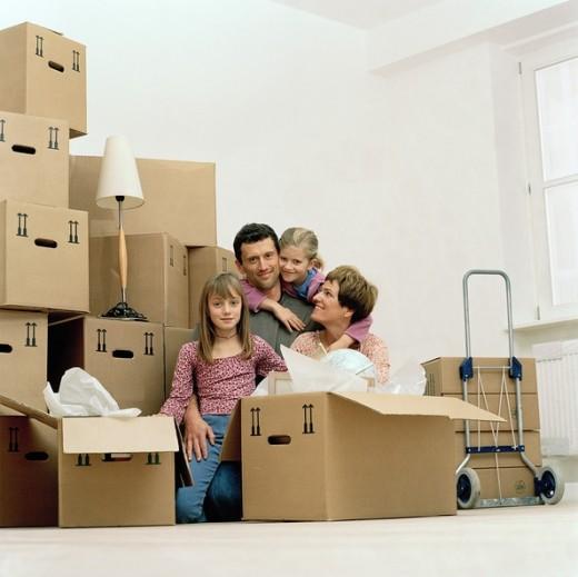 Переезд в квартиру из загородного дома
