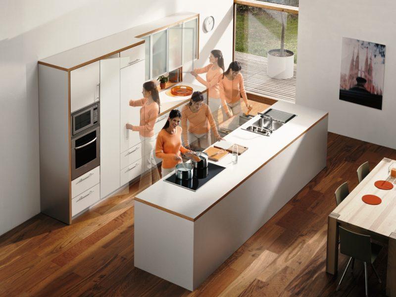 Как обустроить кухню-остров