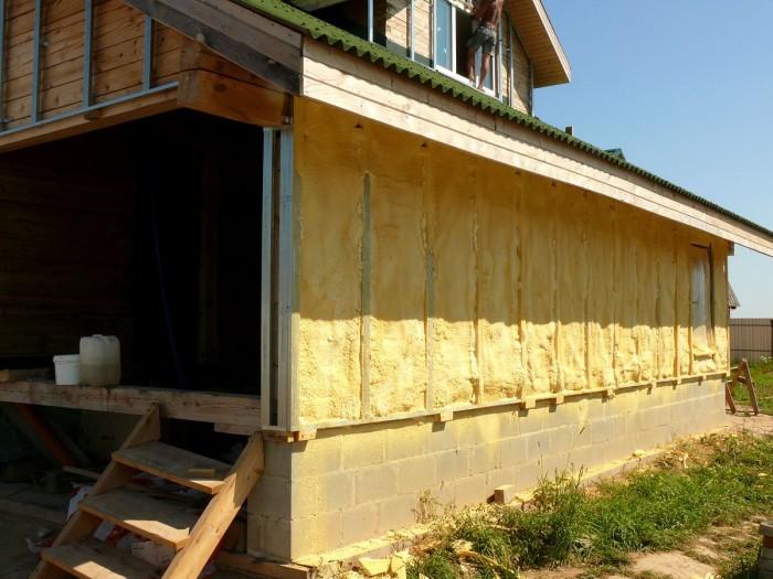 Основы утепления дачных домов