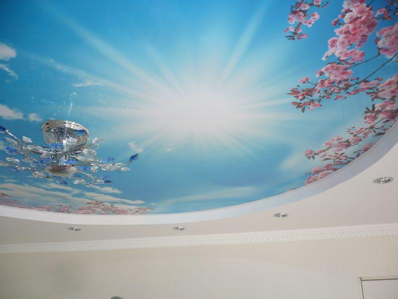 Как правильно выбрать арт - потолок