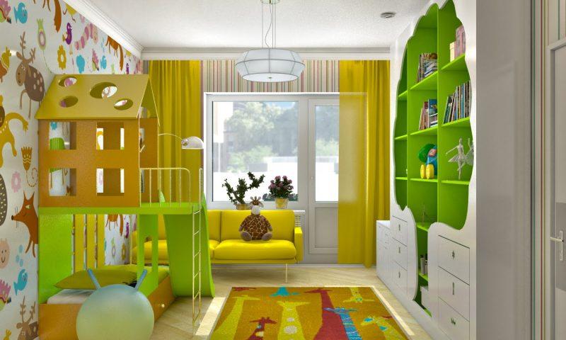 Дизайн детской комнаты. Все лучшее детям