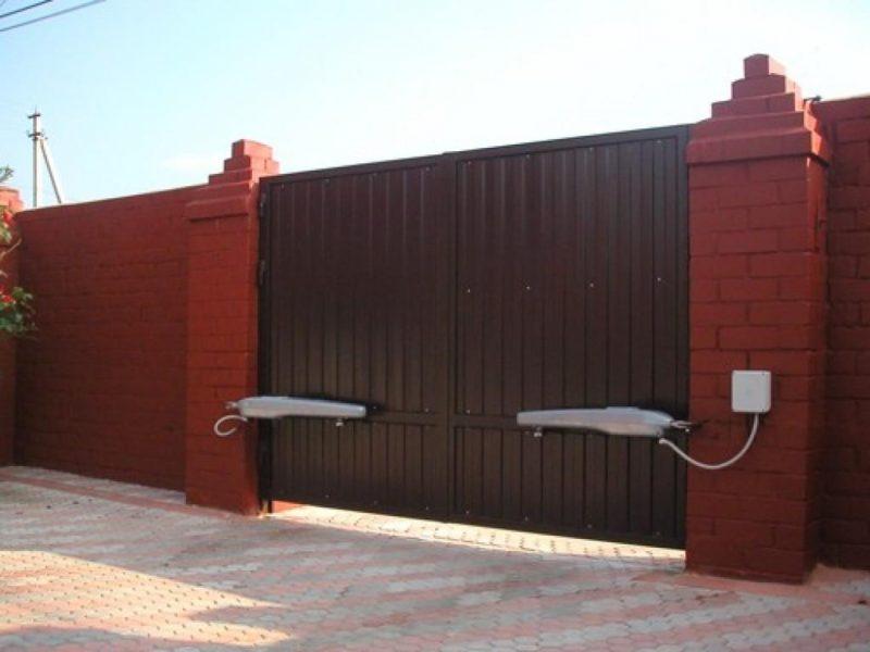 Особенности выбора автоматических ворот