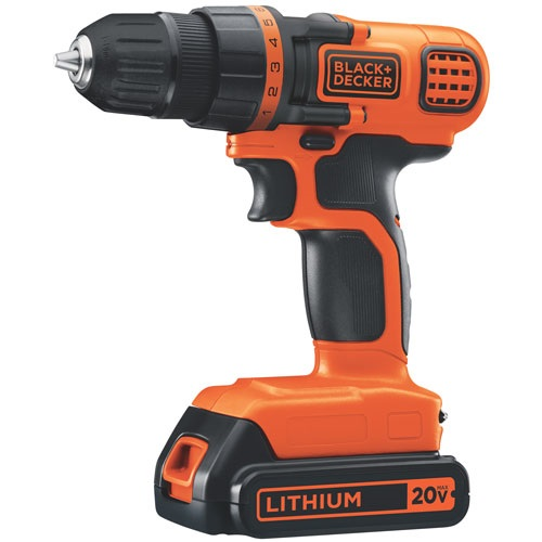Обзор дрели-шуруповерта Black and Decker 20V Max
