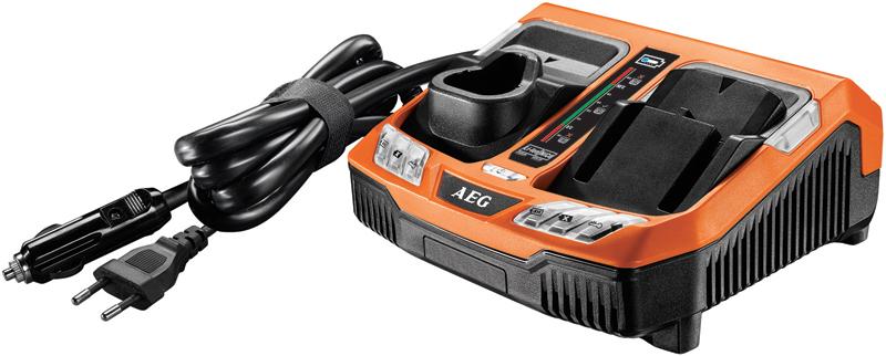 Зарядное устройство и аккумулятор: AEG BLK1218 и L1260