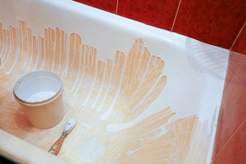 Какими способами можно отремонтировать чугунную ванну?