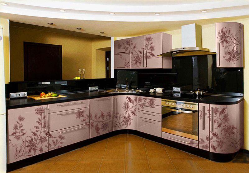Кухонные фасады отделанные пленкой