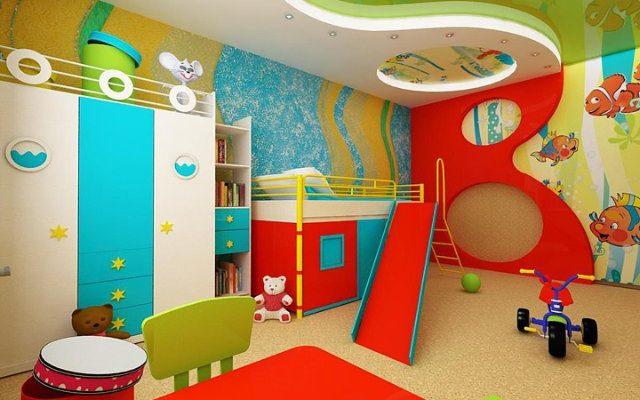 Краски для детских комнат