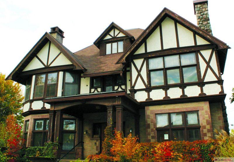 Фахверковые дома – особенности строительства и отделки