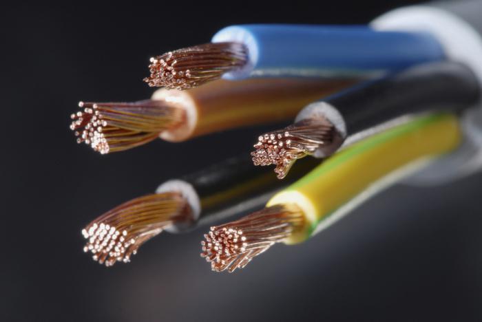 Конструктивные особенности кабельных изделий