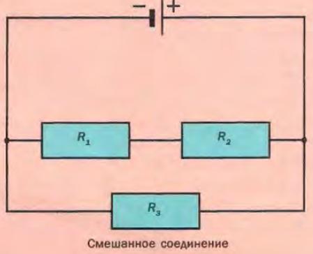 Основные схемы электрических цепей