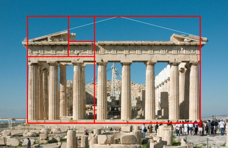 Пропорция и золотое сечение в архитектуре