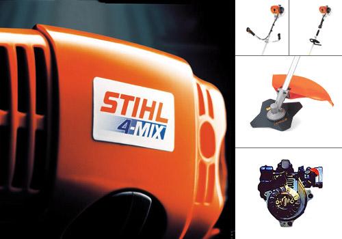 Двигатель STIHL 4-MIX