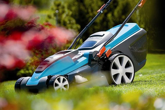 Электрические газонокосилки: виды, устройство и характеристики