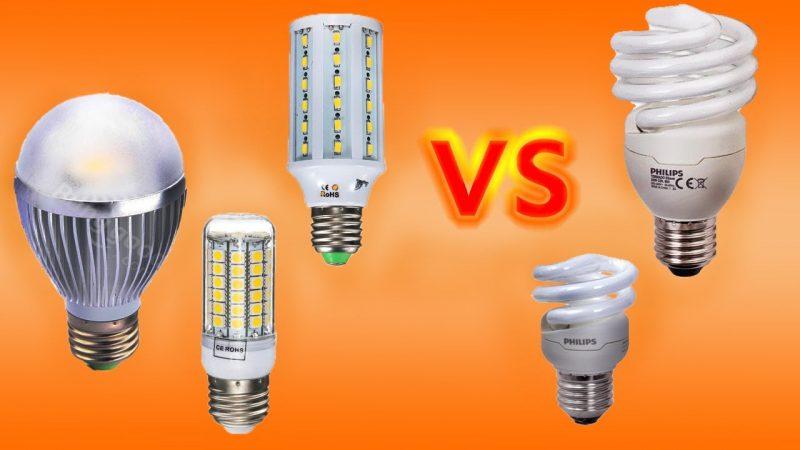 Какие лампы лучше выбрать? Люминесцентные или светодиодные?