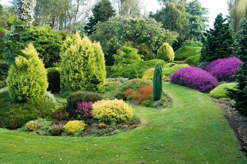 Как визуально увеличить маленький сад