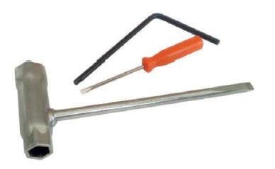 Набор инструментов для обслуживания бензиномоторной пилы