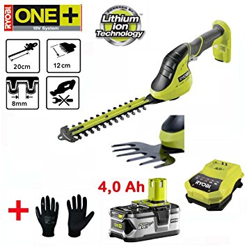 Аккумуляторный кусторез/ножницы для травы Ryobi OGS1822
