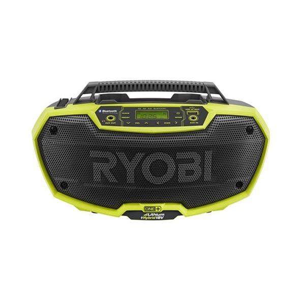 Аккумуляторное радио Ryobi R18RH‑0