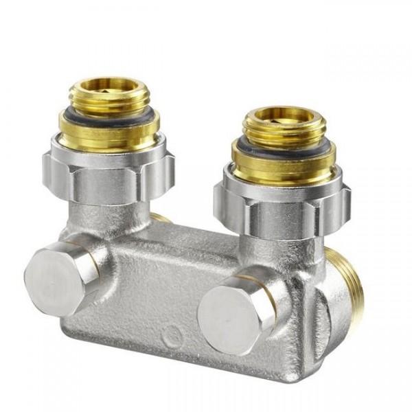 Перепускные узлы Oventrop для двухтрубной системе отопления