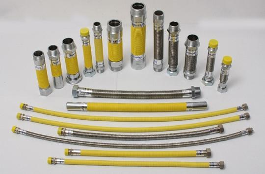 Гибкие рукава для использования в газовом оборудовании