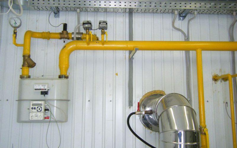 Прокладка внутренних газопроводов