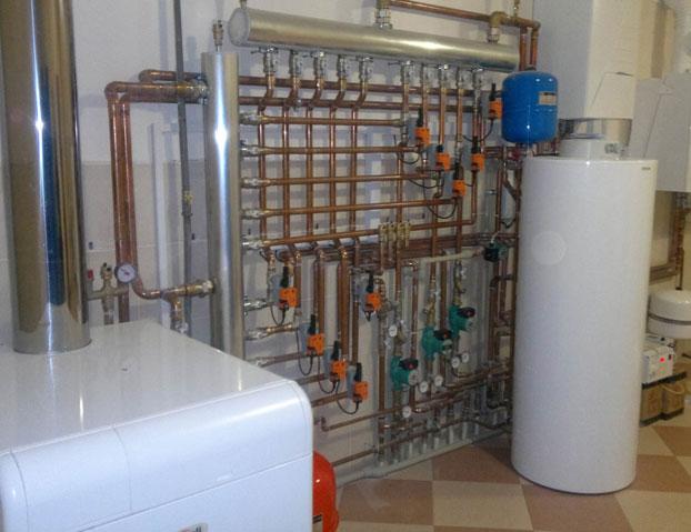 Газовое отопительное оборудование