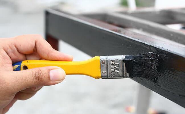 Правильная покраска металлических изделий