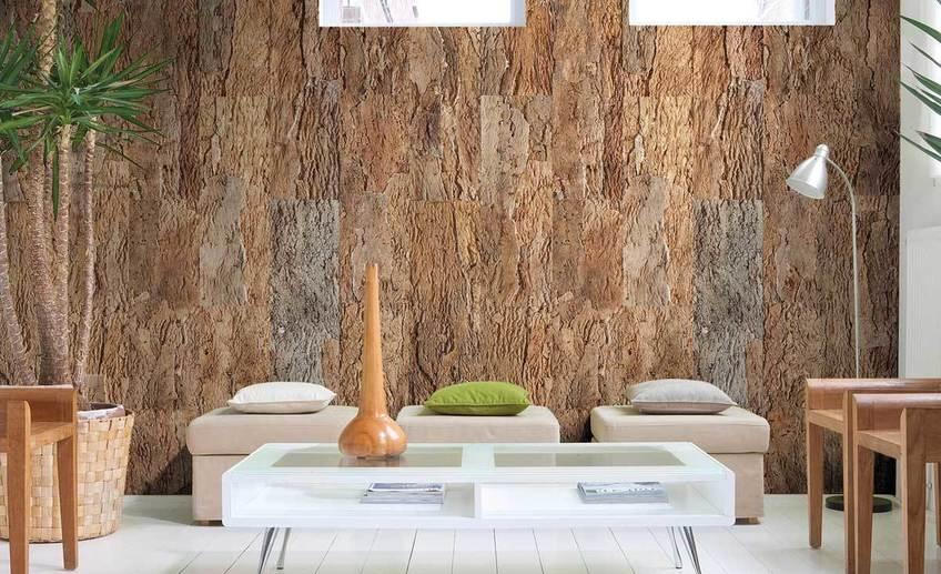 Чем можно заменить обои и краску при отделке стен: три варианта