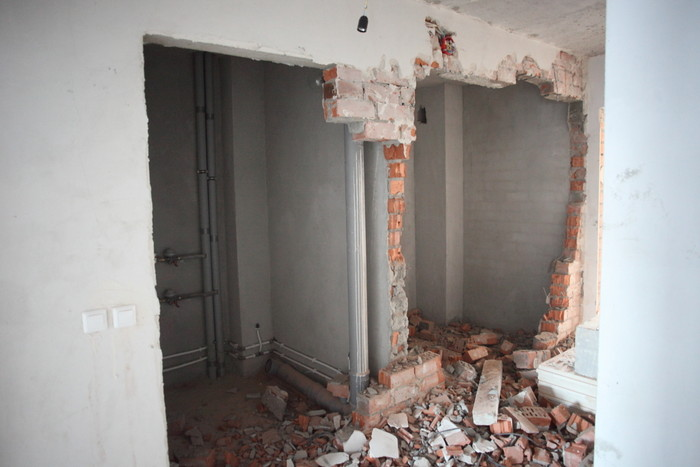 Снос стен в квартире: нюансы
