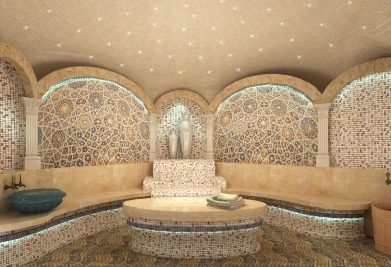 Проектирование и строительство бани «хамам», основные особенности