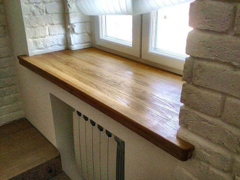 Почему стоит выбирать деревянные подоконники?