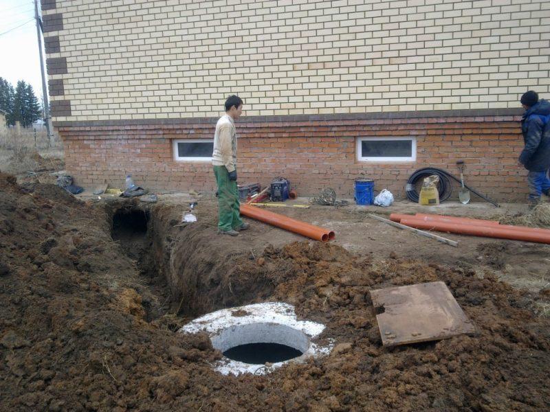 Особенности системы отвода сточных вод загородного дома