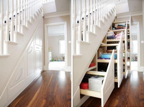 Как использовать пространство под лестницей. Практические советы