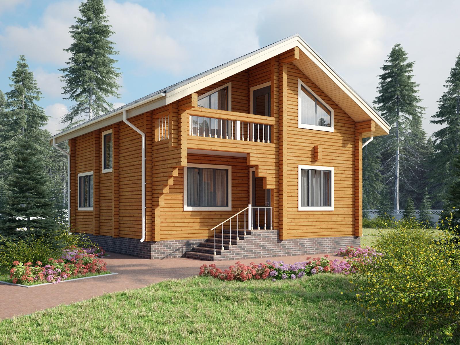 Клееный брус - вершина технологии деревянного строительства