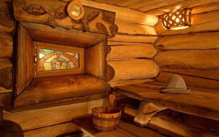 Окно в бане: особенности выбора и установки