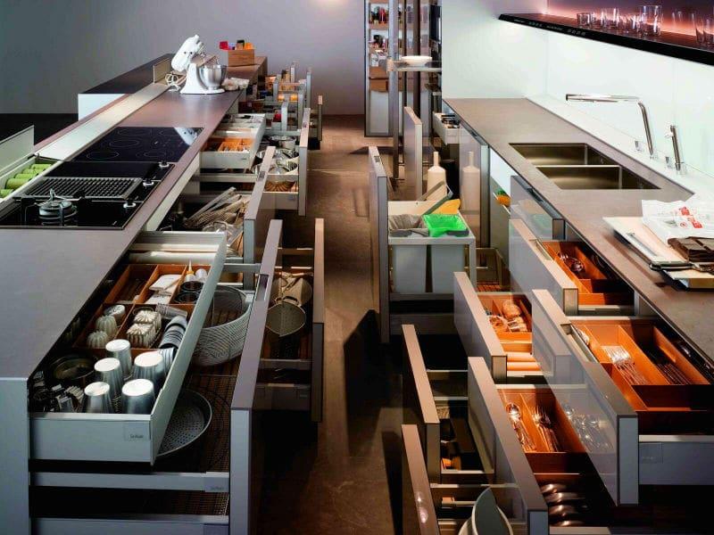 Системы хранения для кухни - комфорт и рациональность