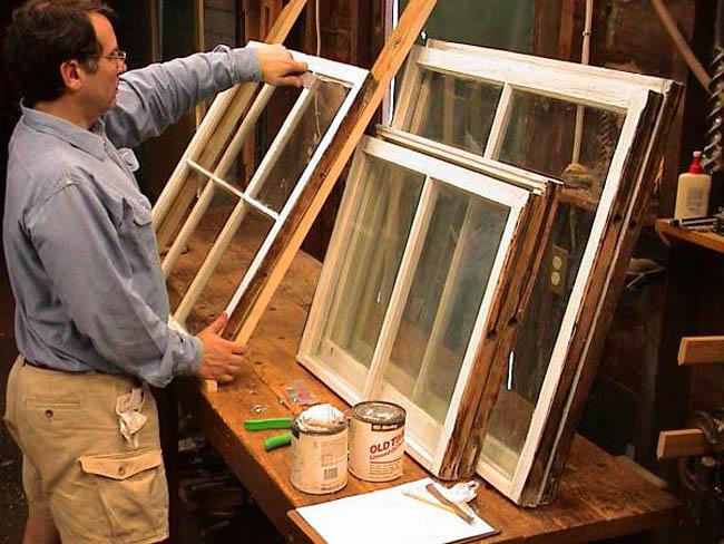 Реставрация и ремонт деревянных окон своими руками