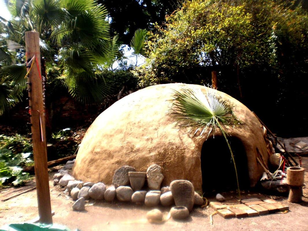 «Дом горячих камней». «Темаскаль» - мексиканская баня