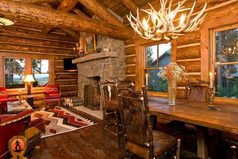 Интерьер в стиле охотничий домик