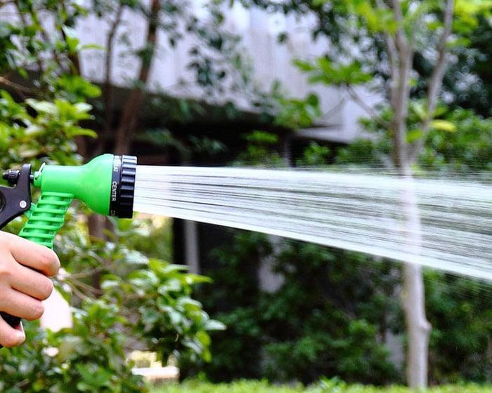 Неправильно вы поливаете сад